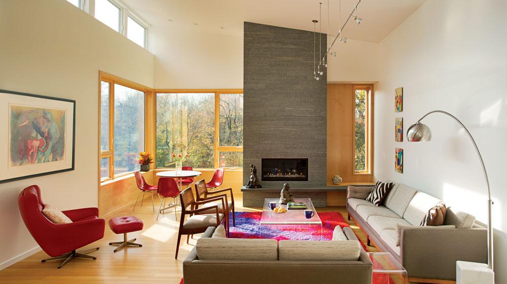 Lexington Living Room, designed by Reisen Design Associates with Heinrich Hermann.