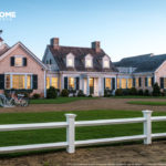 Front yard of the HGTV Dream Home 2015 located on Martha's Vineyard.